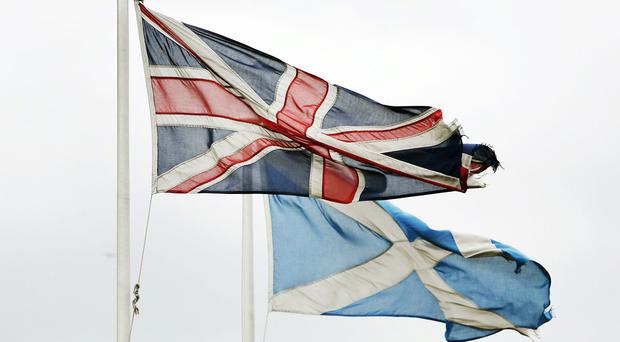 The No campaign has taken a narrow lead in a YouGov poll, with 52% saying they favour remaining part of the Union
