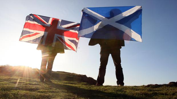 Final push for support comes as polls continue to suggest the outcome of Scotland's independence referendum is too close to call