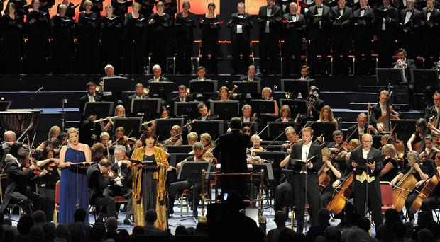 Organisers of the Proms said more than 300,000 people attended 88 concerts in the Royal Albert Hall and Cadogan Hall (BBC/PA Wire)