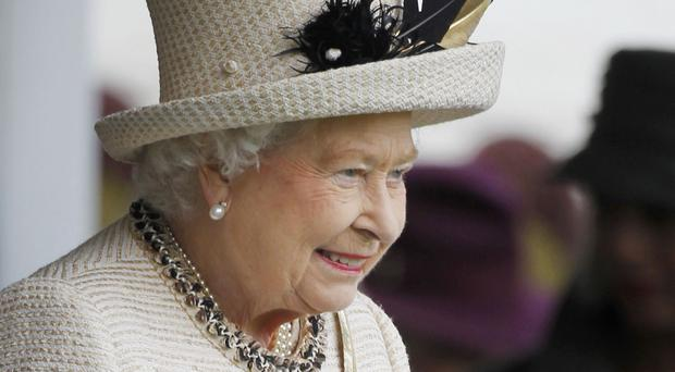 The Queen was asked by a well-wisher about the referendum