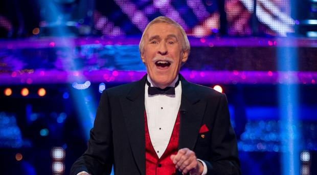 Sir Bruce Forsyth presented Strictly for 10 years
