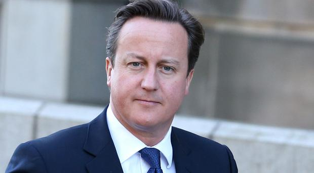Prime Minister David Cameron has said it would break his heart if Scots voted Yes