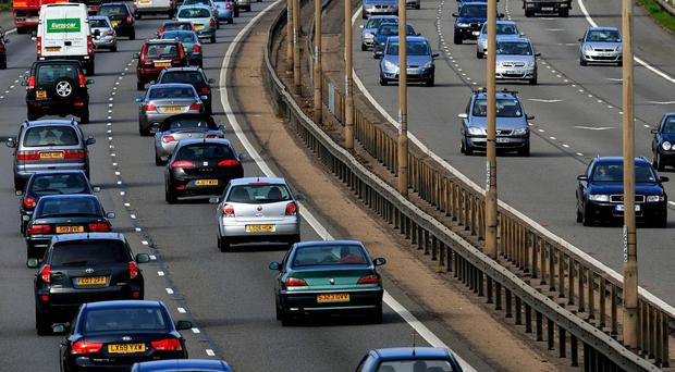 Drivers were advised to avoid the M1