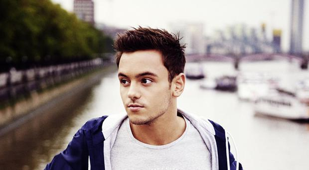 Tom Daley models the Adidas range (Adidas/PA)