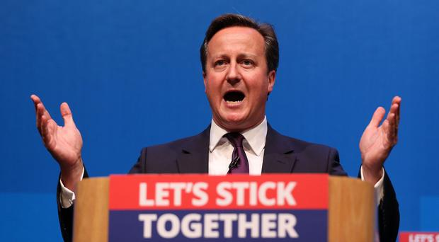 Prime Minister David Cameron, who campaigned for a No vote, will address the nation
