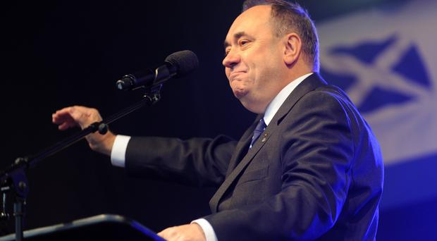 Alex Salmond announced he would quit as leader of the SNP and First Minister