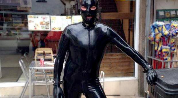 Gimp Man of Essex: 'I don't go round to scare people, I want to do good'