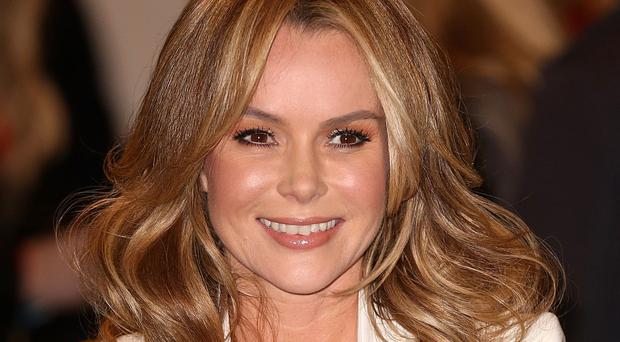 Amanda Holden is standing in for Holly Willoughby