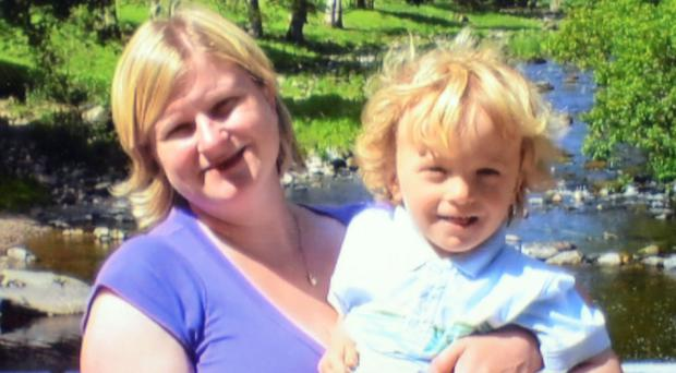 Lisa Clay, 40, and her son Joseph, six, were killed by Paul Chadwick (Lancashire Constabulary/PA Wire)