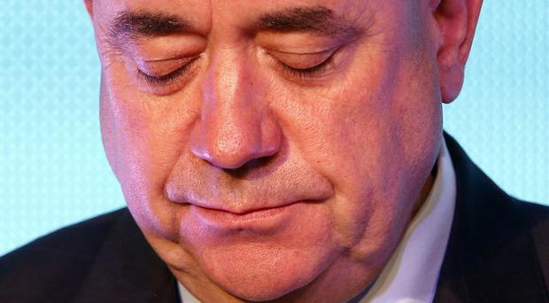 First Minister Alex Salmond is returning to Holyrood for the first time since losing his bid for Scottish independence