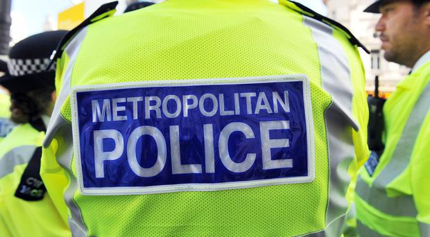 Metropolitan Police officers are questioning a man suspected of being involved in making IEDs
