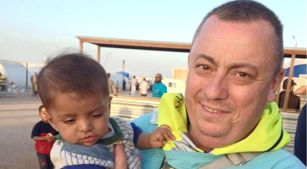 Alan Henning is being held hostage by Islamic State