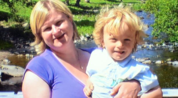 Lisa Clay and her six-year-old son Joseph were stabbed to death by Paul Chadwick