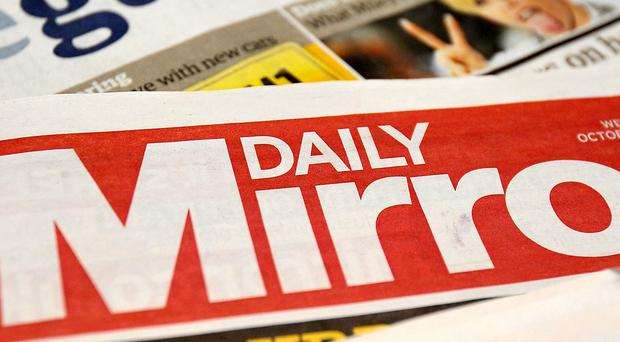 The Daily Mirror's parent company has admitted liability