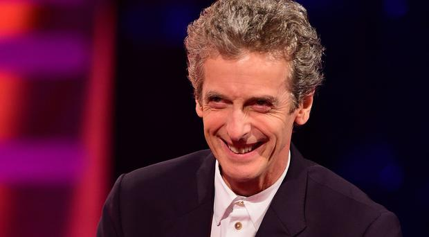 Doctor Who actor Peter Capaldi on The Graham Norton Show
