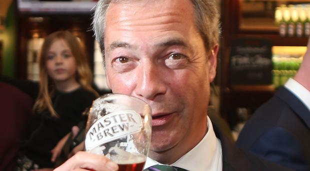Nigel Farage is launching an attack on Labour at Ukip's party conference