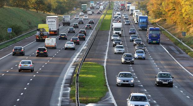 Counter-terrorism police have arrested two men on the M6 motorway
