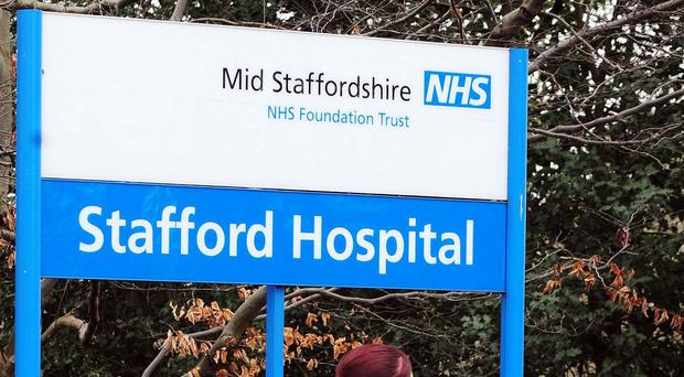 John Moore-Robinson died at Stafford Hospital