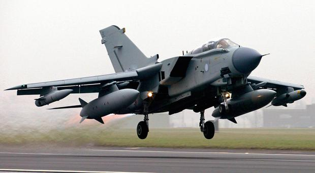 RAF Tornado GR4 fighter-bombers are expected to lead an attack on Islamic State targets in Iraq
