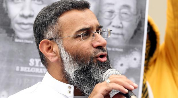 Anjem Choudary said his arrest was 'politically motivated'