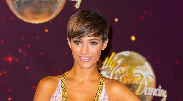 Frankie Bridge is at the top of the scoreboard on Strictly Come Dancing