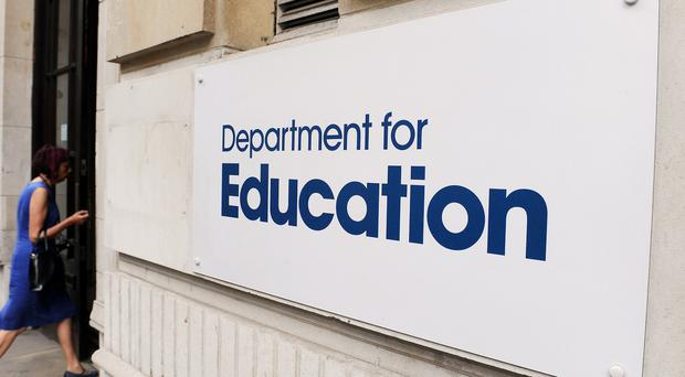 The Department for Education said all schools are subject to a 'tough inspection' regime