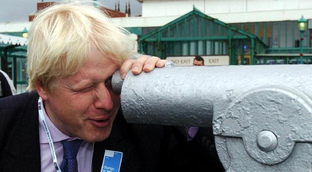 Boris Johnson has his eye on a Tory general election victory as he warns MPs not to desert the party for Ukip