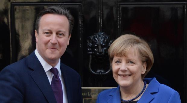 Prime Minister David Cameron and German chancellor Angela Merkel are at odds over the free movement of workers in the EU