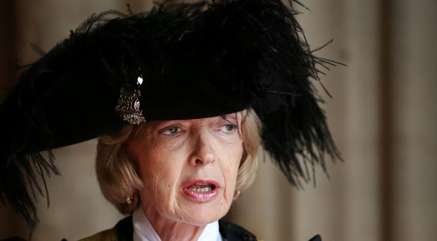 Fiona Woolf said she made the decision to step down after losing the support of victims
