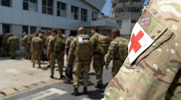 British armed forces personnel in Sierra Leone to help with the Ebola crisis (Ministry of Defence/PA)