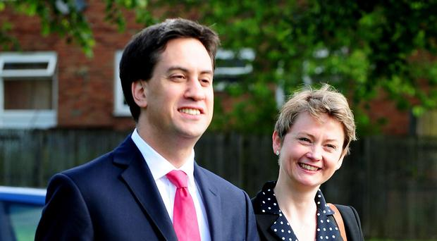 Yvette Cooper said Labour leader Ed Miliband was doing a