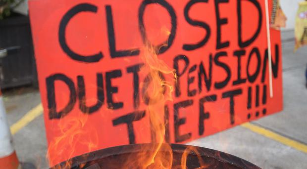 Firefighters are staging a four-day strike as stations across England were closed all weekend.