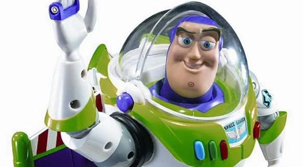 Toy Story hero Buzz Lightyear was voiced by US comic Tim Allen