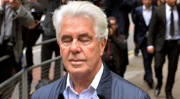 Max Clifford was convicted of a string of indecent assaults