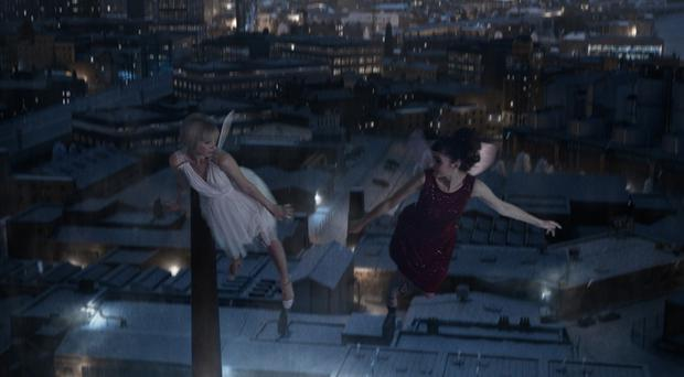 A still from the new M&S Christmas advertising campaign (Marks&Spencer/PA)