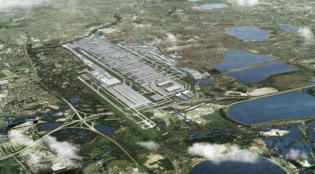 Heathrow Airport's push for a third runway is one of three options out for consultation