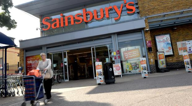 Sainsbury's underlying profits for the six months to September 27 were 6.3% lower at £375 million
