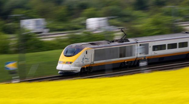 Eurostar is unveiling its new fleet of faster trains