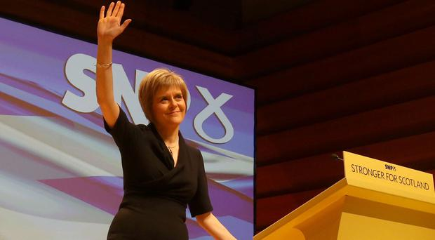 New Scottish National Party leader Nicola Sturgeon