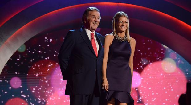 Sir Terry Wogan and Tess Daly present Children in Need