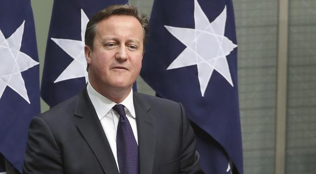 Polls suggest that David Cameron's Tories are facing defeat in the November 20 by-election. (AP)