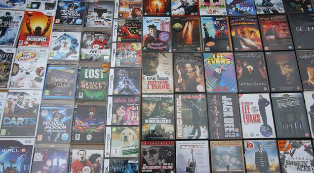 DVDs are popular on most people's Christmas wish list this year