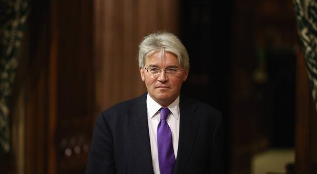 Andrew Mitchell was involved in an altercation with police at the gates to Downing Street
