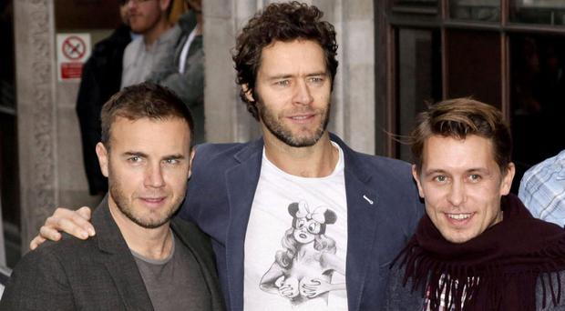 Take That will switch on the Regent Street Christmas lights