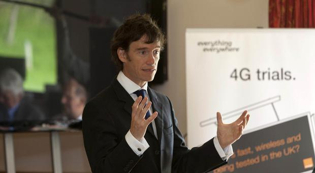 New father Rory Stewart