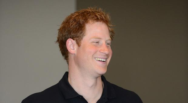 Prince Harry is visiting for three days
