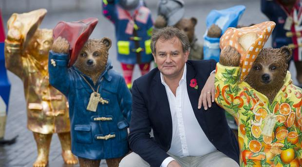 Actor Hugh Bonneville attends the launch of the Paddington Trail in London