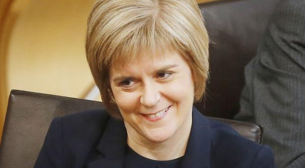 Nicola Sturgeon is set to be voted in as First Minister