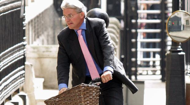 The incident happened when Andrew Mitchell was leaving Downing Street