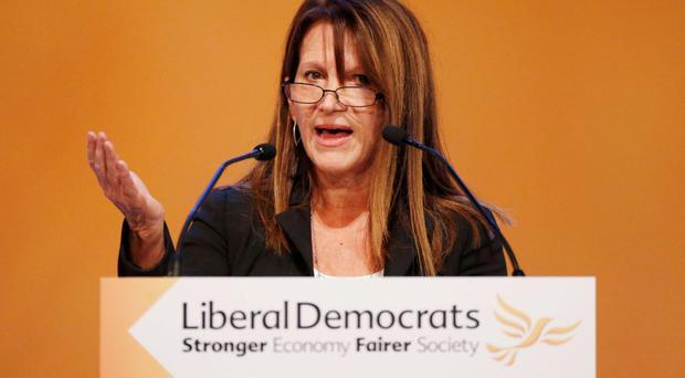 Outraged: Lynne Featherstone lobbied for visa ban on Blanc